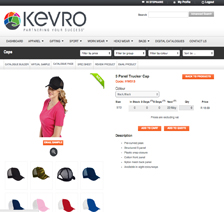 Kevro - Online Store